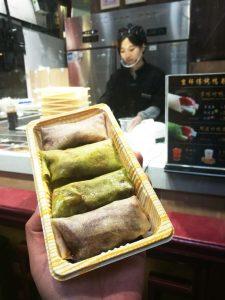 北京ダック巻:京味烤鸭卷(Jīngwèi kǎoyā juǎn)