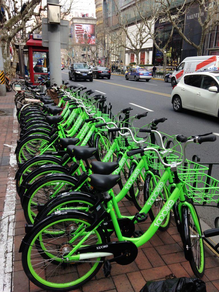 共享单车(Gòngxiǎng dānchē)