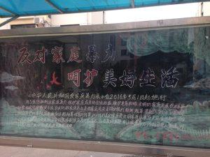 反対家庭暴力(Jiātíng bàolì)