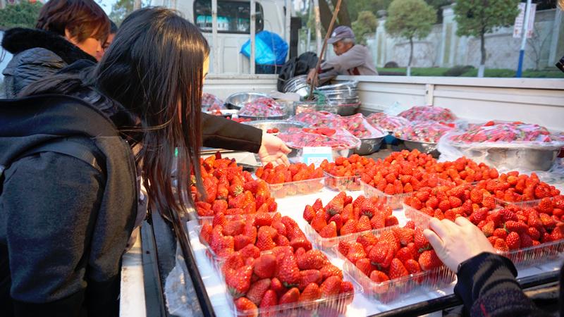 草莓(Cǎoméi)の旬です!