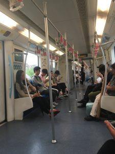 地铁(Dìtiě)9号線