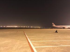 浦東机场(Pǔdōng jīchǎng)にて