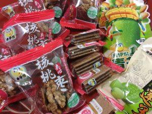 上海茶話会用のお茶菓子を入手