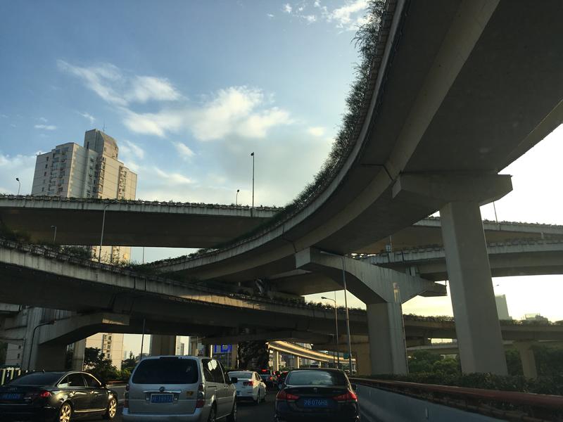 高架(Gāojià)道路