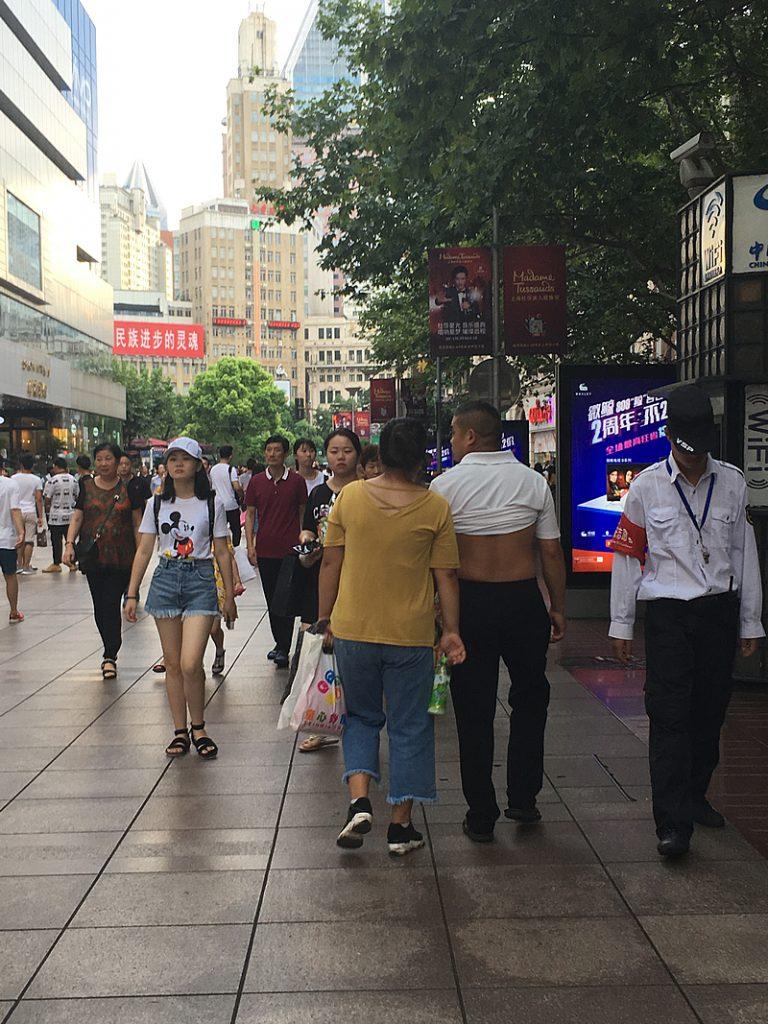 上海比基尼(Bǐjīní:ビキニ)でお散歩